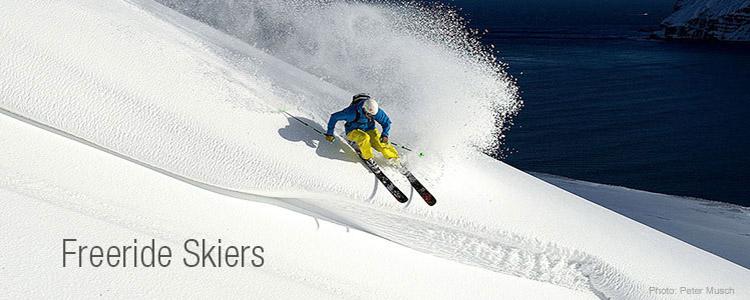 Marmot Freeride Skiers