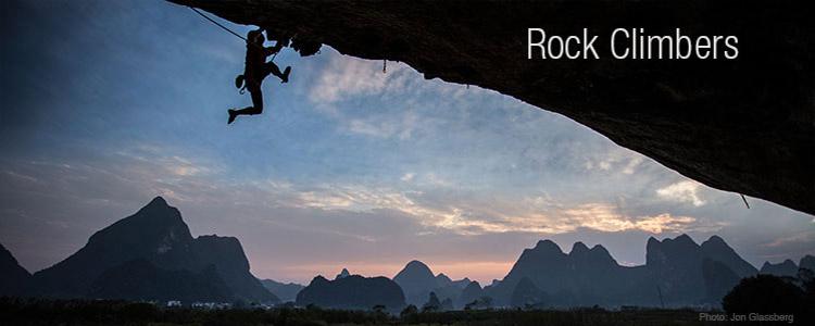 Marmot Rock Climbers