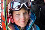 Emma Lande, Marmot Freeride Skier