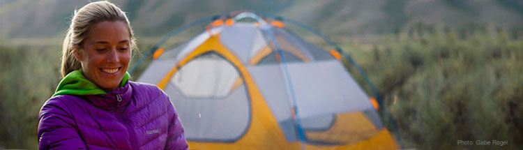 Marmot Camping Apparel and Equipment for Women