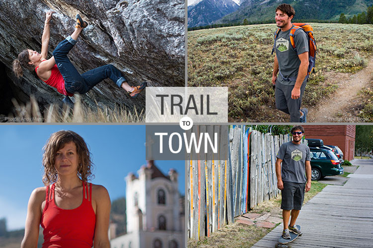 Marmot Trail to Town Apparel