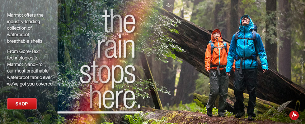 Marmot Waterproof: The Rain Stops Here