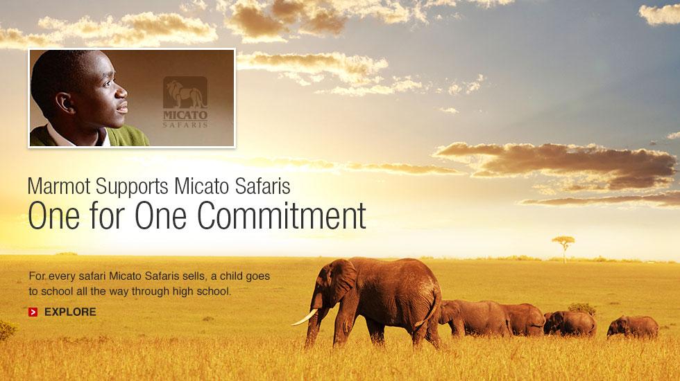 Marmot Supports Micato Safaris
