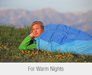 Sleeping Bags for Warm Nights