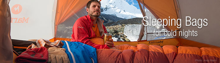 Marmot Sleeping Bags for Cold Nights