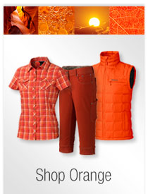 Marmot Colors to Inspire: Orange