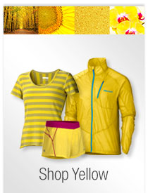 Marmot Colors to Inspire: Yellow