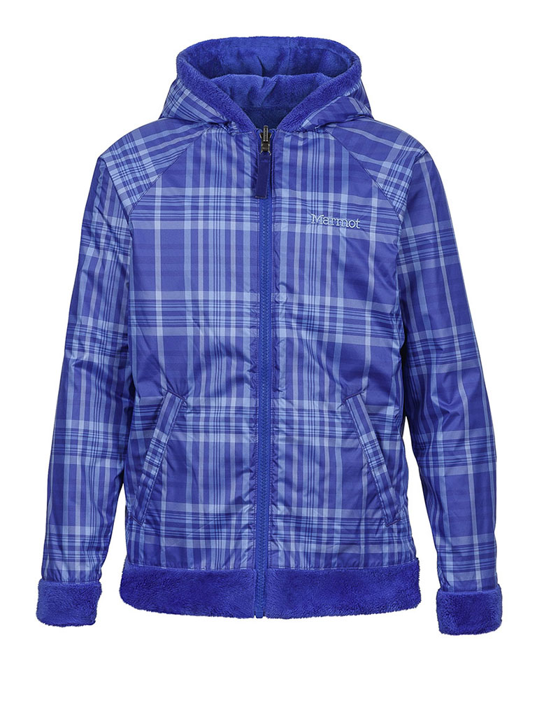 Girl's Snow Fall Reversible Jacket