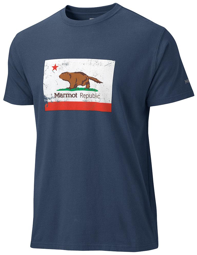 California Marmot Tee SS