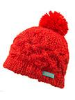 Girl's Chunky Pom Hat